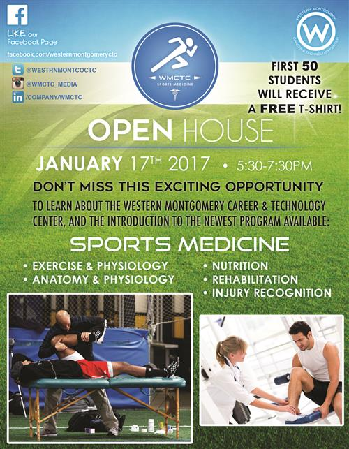 Sports Med Open House