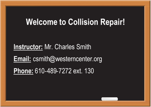 Collision Repair Welcome