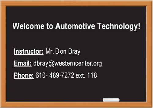 Automotive Technology Welcome