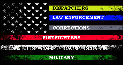 Protective Services Flag