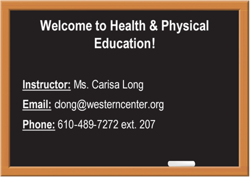 Health and PE Welcome
